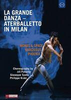 ATERBALLETTO - LA GRANDE DANZA:ATERBALLETTO IN MILAN   DVD NEU