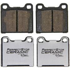Disc Brake Pad Set-FWD Rear,Front Perfect Stop Ceramic PC31