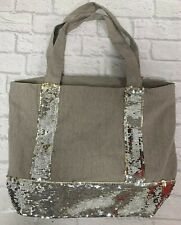 Sequin Beach Shopping Bag Brand New Over the Shoulder Holiday Weekend