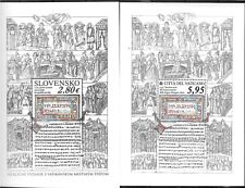 Vatican 2018 joint with Slovak Republic Slavonic Liturgical Language MNH 2 S/S
