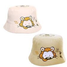 Baby Toddler Cute Lion Print Bush Hat Summer Sun Kids Girls Boys 0 - 3 Years