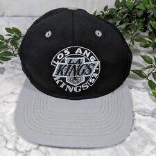 Anuncio nuevoVintage perdido Angeles L.a Kings Hockey League equipo con  licencia NHL Negro Cap (gran) a8691fc97fe