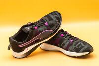 PUMA Pulse Ignite Mesh XT Swan Fitness Shoes Size 5.5 Black Purple Accents