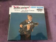 CD EP Single JOHNNY HALLYDAY - 24000 baisers NEUF