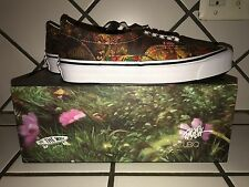 VANS x UBIQ Ron English Camo Deer Sneakers SIZE 9 Signed 2X on Box and Shoe