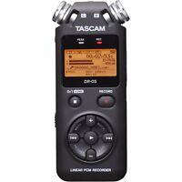 Tascam DR05 V2 Portable Handheld Electronic Digital Recorder PCM Hand Held DR-05
