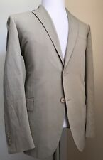 New $2580 Botega Venetta Mens Summer Suit Ivory 44 US ( 54 Eur) Italy