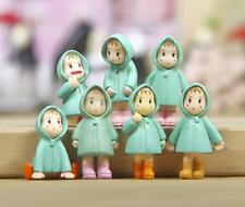 6pc Raincoat Mei My Neighbor Totoro Figurine Fairy Garden Succulent Figure Toy