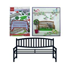 Wood Bench Metal Die Cut Marianne LR0259 Cutting Dies Garden All Occasion
