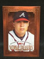 1997 Donruss Preferred National Treasures Bronze Chipper Jones #170 HOF MINT