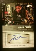 2012 Sage Hit #A82 JURON CRINER Autographed <SILVER> Rookie Card **FREE SHIP**