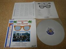 The Beach Boys ~ 25 Years Together/ Japan LD Laserdisc/ OBI Sheet