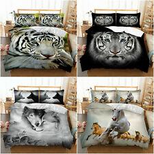 New ListingAnimal Soft Duvet Cover Set Microfiber Comforter Cover All Sizes Bedding Set New