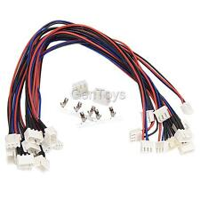 10pcs JST-XH Balance Wire Extension Lead w/2S Connectors for RC Lipo Battery