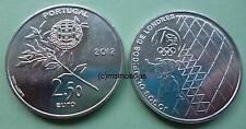 Portugal 2,50 Euro Sondermünze 2½ € 2012 Olympia London Euromünze coin