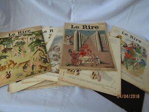 LE RIRE lot de 15 numéros 1928 - 1936