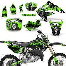 Decal Graphic Kit Honda MX CR85R Bike Sticker Wrap with Backgrounds 03-07 REAP G