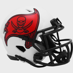 Tampa Bay Buccaneers Lunar Eclipse Alternate Riddell Speed Mini Helmet New i box