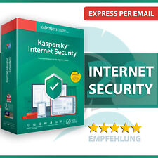 Kaspersky Internet Security 2021 - alle Versionen - 1 oder 2 Jahre - Download