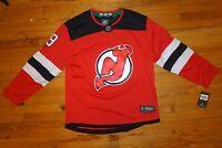 Fanatics #9 Taylor Hall NJ Devils Breakaway Jersey Mens XLarge New With Tags