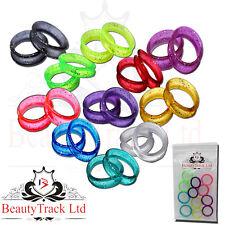 Finger Ring Inserts for Hairdressing Barber Scissors, Shears in Sparking Colours