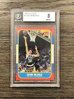 1986 - 1987 Fleer Kevin Mchale BGS 8 Boston Celtics #73