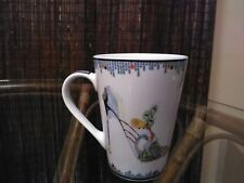 Mug Cup Fancy White Blue Green High Heel Shoe Kate Follows  Pictura Coffee Tall