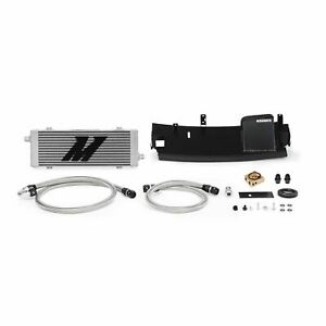 Mishimoto Thermostatic Oil Cooler Kit Fits Ford Focus RS 2016-2018 Sleek Silver
