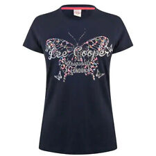 Ladies T Shirts Lee Cooper Tops Womens Short Sleeve Crew Tee Size 10 12 14 16 18
