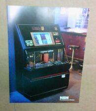 NSM HYPERBEAM CD Jukebox flyer- original