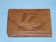 Matt Kenseth NASCAR #17   Leather TriFold Wallet    NEW    brown 2