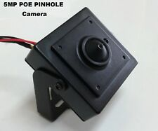5MP IP Pinhole POE Spy Nanny Hidden Camera - 3.7mm Lens HD ONVIF