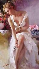 """Pino """"Angelica"""" Beautiful Lady Giclee on paper Hand signed/Numbered 16x12 coa"""
