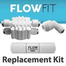 Reverse Osmosis Check Valve, Flow Restrictor & Automatic Shut off valve 1000ML