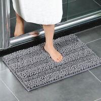 Soft Chenille Non-slip Mat Door Mats Floor Rugs Bathroom Bedroom Living Kitchen
