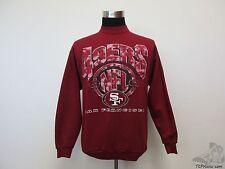 Vtg 90s Logo 7 San Francisco 49ers Crewneck Sweatshirt sz L Large Football NFL