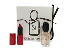 Giorgio Armani Si Miniature Gift Set 7ml EDP + 1.5ml Lipcolor Rouge Ecstasy