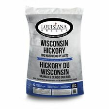 All Natural Wood Wisconsin Hickory Pellets - 40 lbs.