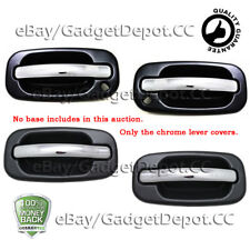 For 1999-2007 GMC Sierra 2500/3500 Chrome Door Handle Covers