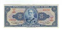 20 Cruzeiros Brasilien 1963 C023 / P.168b - Brazil Banknote