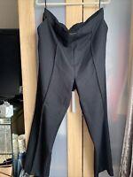 Papaya Smart Black Trousers Size 20 Brand New