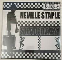 "Neville Staple - Ska Crazy! ~ Limited White Vinyl Record 12"" Numbered"
