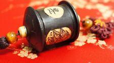 Netsuke Inlaid Feng Shui Chinese Oriental Tassel Lucky Charm