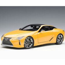 Autoart Lexus LC 500 1:18 Model Car Yellow 78847