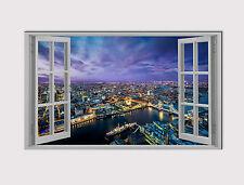 """114 X Grande De Lona 18"""" X 32"""" arte de pared de Ciudad de Londres Tower Bridge de impresión de fotos"""