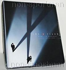 X-FILES MOVIE I WANT TO BELEIVE MINI-MASTER W/BINDER++
