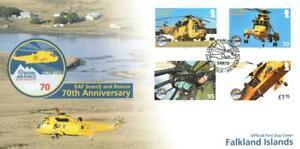 FALKLAND ISLANDS 2011 70TH ANNIV OF RAF SEARCH & RECSUE FDC PORT STANLEY