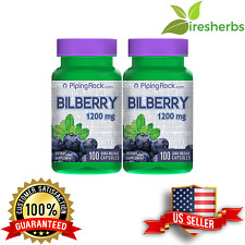 BILBERRY FRUIT EXTRACT 1200MG KIDNEY URINARY TRACT EYE VISIONS UPPLEMENT 200 CAP