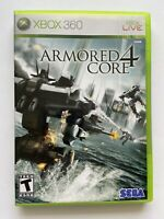 Armored Core 4 (Xbox 360) -W Manual & Tested- FAST SHIPPING