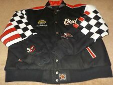 Dale EARNHARDT Jr. 2004 Leather Jacket - 1BUD - NASCAR - Size XL